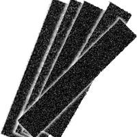 "1"" Wide Sanding Strips 10-Packs"