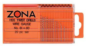 Twist drills twist drill bits zona tools 20 pc high speed twist drill set keyboard keysfo Image collections