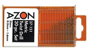 Twist drills twist drill bits zona tools 20 pc metric high speed twist drill set greentooth Choice Image