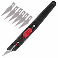 39-850 Retractable Knife Set with 6 blades
